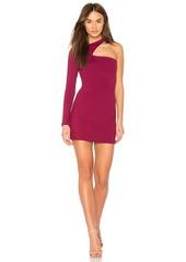 Susana Monaco One Sleeve Cut Out Dress