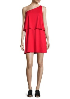 Susana Monaco One-Shoulder Layered Dress