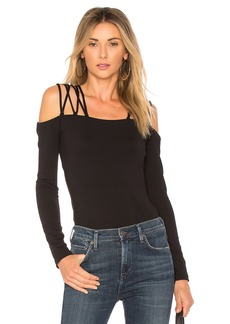 Susana Monaco Laced Shoulder Top