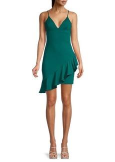 Susana Monaco Ruffled Bodycon Dress
