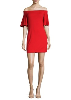 Susana Monaco Sasha Off-The-Shoulder Dress