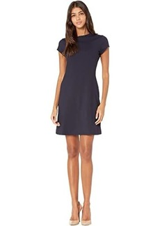 Susana Monaco Short Sleeve A-Line Dress