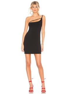 """Strap Detail One Shoulder 16"""" Dress"""