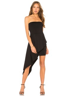 Strapless Overlay Dress
