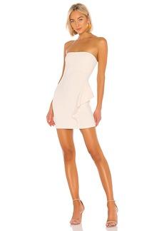 Susana Monaco 16 Strapless Dress With Ruffle Detail