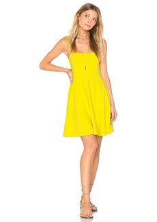 Susana Monaco Alena Dress in Yellow. - size L (also in M,S,XS)
