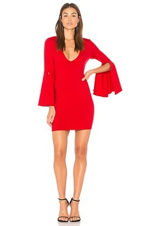 Susana Monaco Split Sleeve Dress