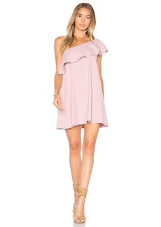Susana Monaco Arwen 16 Dress in Mauve. - size L (also in M,S,XS)