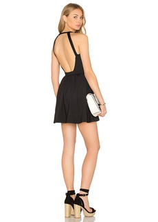"Susana Monaco Backless Fit & Flare 16"" Dress"