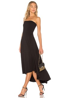 Susana Monaco Strapless Hi Low Dress