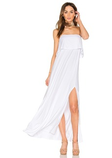 Susana Monaco Benny Maxi in White. - size L (also in M,S)