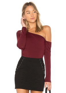 Susana Monaco Beth Top in Red. - size L (also in XS,S)