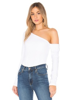 Susana Monaco Asymmetrical One Shoulder Top