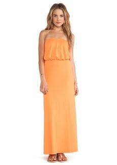 Susana Monaco Blouson Tube Dress