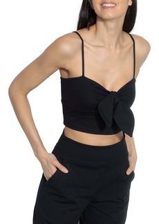 Susana Monaco Bow Front Crop Camisole