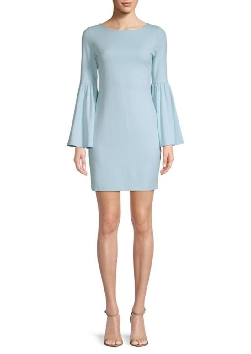 Susana Monaco Bryn Bell-Sleeve Dress