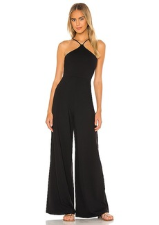 Susana Monaco Center Strap Gathered Jumpsuit