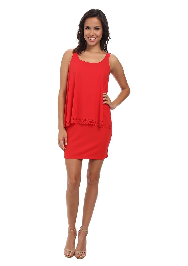 Susana Monaco Crew Overlay Dress