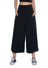 Susana Monaco Crop Wide Leg Pants