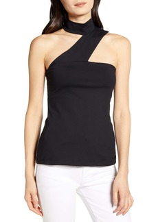 Susana Monaco Cross Strap Sleeveless Top
