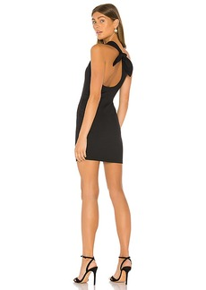 Susana Monaco Curved Back Bow Dress
