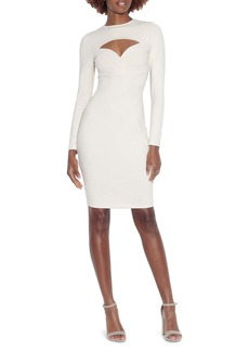 Susana Monaco Cutout Long Sleeve Dress