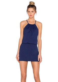 Susana Monaco Drape Mini Dress