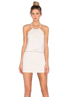 Susana Monaco Drape Mini Dress