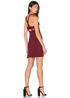 Susana Monaco Ella Dress in Burgundy. - size L (also in M,S)