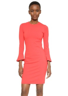 Susana Monaco Emma 3/4 Ruffle Sleeve Dress