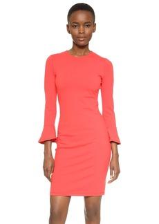 Susana Monaco Emma 3/4 Ruffle Sleeve Dress