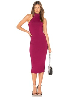Susana Monaco Erika Midi 24 in Wine. - size M (also in S,XS)