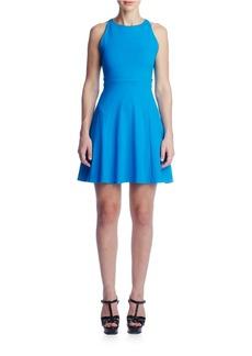 SUSANA MONACO Estella Fit-and-Flare Open-Back Dress