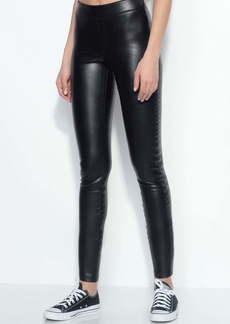 Susana Monaco Faux Leather Crop Pants