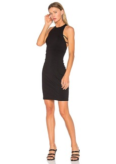 Susana Monaco Fawn Dress in Black. - size L (also in M,S,XS)