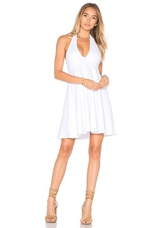 Susana Monaco Fern 16 Dress in White. - size M (also in S,XS)