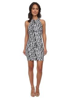 Susana Monaco Fitted Halter Dress