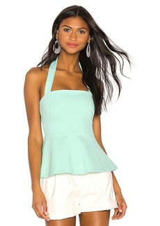 Susana Monaco Flared Halter Top