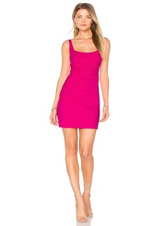 Susana Monaco Gather Tank 17 Dress in Pink. - size S (also in XS,M,L)