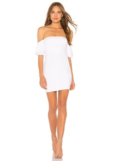 Susana Monaco Gathered Short Sleeve 16 Dress