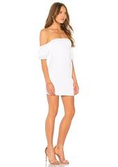 Susana Monaco Gathered Short Sleeve 16 Dress