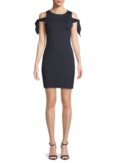 Susana Monaco Greta Cold-Shoulder Dress