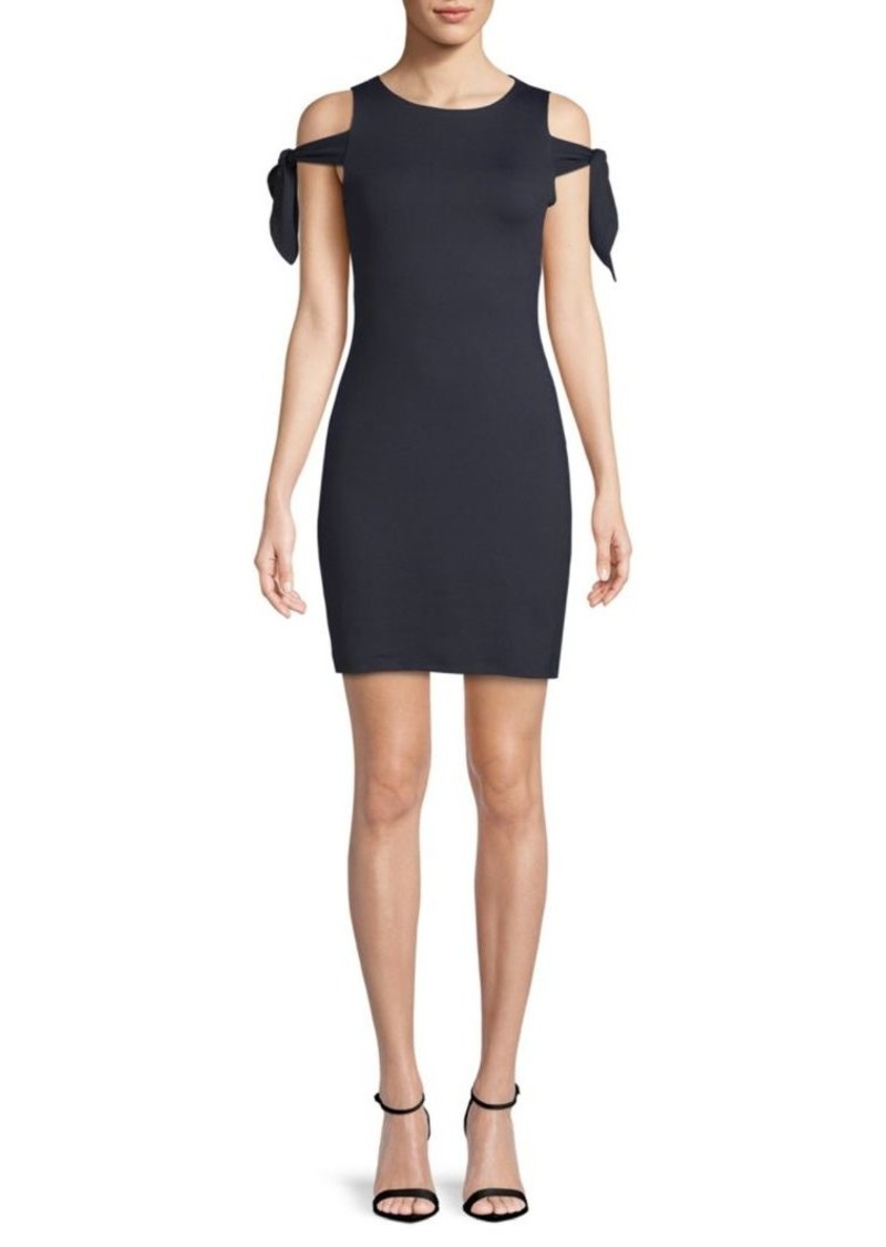 Susana Monaco Greta Cold-Shoulder Dress