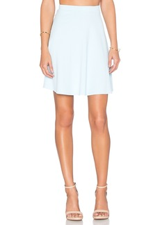 Susana Monaco High Waist Flared Skirt