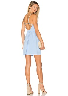 Susana Monaco Isla Dress in Blue. - size L (also in S,XS)