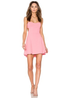 Susana Monaco Back Cut Out Dress