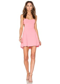 Susana Monaco Jane 16 Dress in Pink. - size L (also in M,XS)