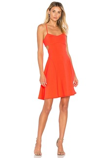 Susana Monaco Jane Dress in Orange. - size L (also in M,S,XS)