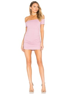Susana Monaco Jona Dress in Mauve. - size L (also in XS,S,M)