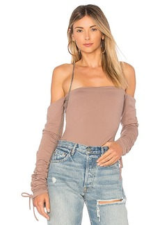 Susana Monaco Keira Top in Taupe. - size XS (also in L,M,S)